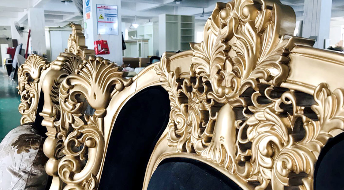 china high end custom furniture factory