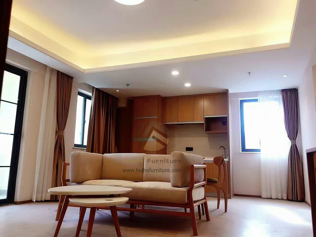 Custom Made Modern Style Apartment Furniture Project in Xiamen,China ...