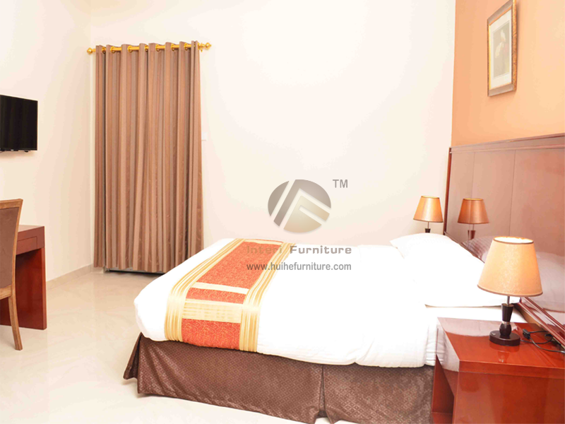 Custom Hotel Bedroom Furniture Made by Interi Furniture  in China